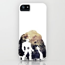 Superheroes minimalist - juggernaut iPhone Case