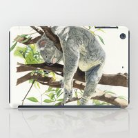 koala iPad Cases featuring Koala by Patrizia Donaera ILLUSTRATIONS