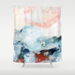 abstract painting III Shower Curtain