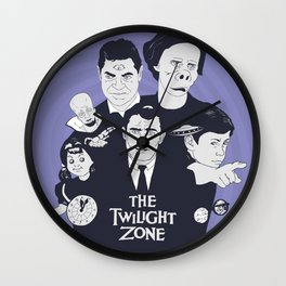 As Timeless As Infinity - The Twilight Zone Wall Clock