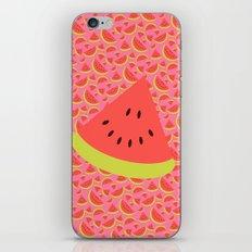 Spring watermelon iPhone & iPod Skin