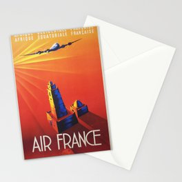 Vintage poster - French West Africa Stationery Cards