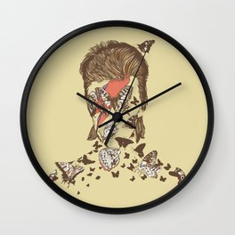 FACES OF GLAM ROCK Wall Clock