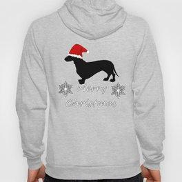 "Dachshund ""Merry christmas"" Hoody"