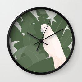 Millennial Cockatoo Wall Clock