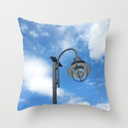 Rest Stop for the Harbinger Throw Pillow