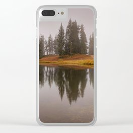 Colorado Fall Colors Panorama Clear iPhone Case