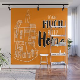 The Burrow - Its not much but its Home Wall Mural