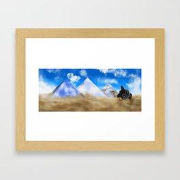 Desert Dweller Revalation Framed Art Print