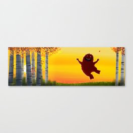 I found a bigfoot Canvas Print