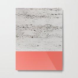Living Coral on Concrete #1 #decor #art #society6 Metal Print