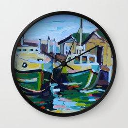 Fishtown Wall Clock