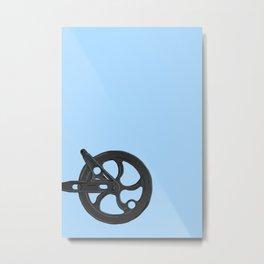 Clothes line wheel Metal Print