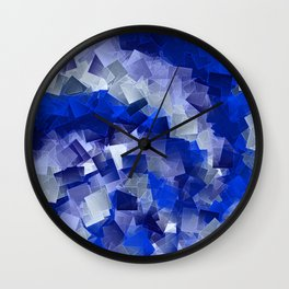 little sqares and rectangles pattern -1- Wall Clock