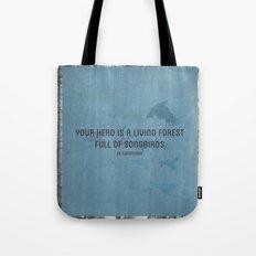 ee cummings - songbirds. Tote Bag