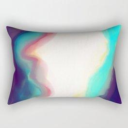 in the mountains Rectangular Pillow