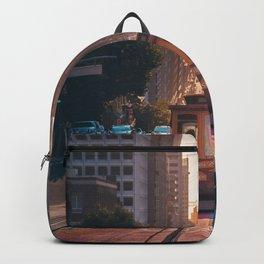 San Francisco Trolley (Color) Backpack