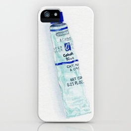 Cobalt Blue iPhone Case
