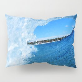 Surfing Costa Rica Inside Out Pillow Sham