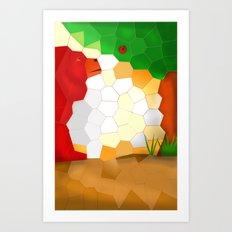 my last apple Art Print
