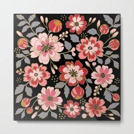 Russian Rose Metal Print