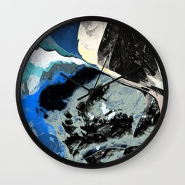 Restless Beach Wall Clock
