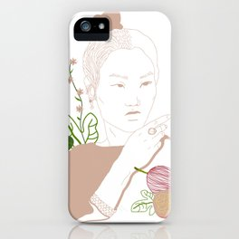 Japanesse Woman iPhone Case
