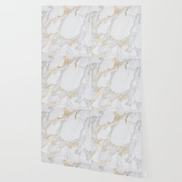 Marble with Gold Wallpaper