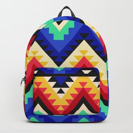 American Native Pattern No. 95 Backpack
