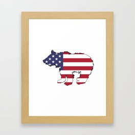 Bear Cub Framed Art Print