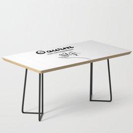 Gourm Coffee Table