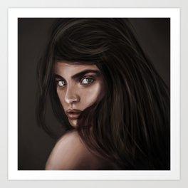 Sara Sampaio Art Print