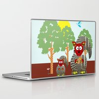 kangaroo Laptop & iPad Skins featuring Kangaroo by Design4u Studio