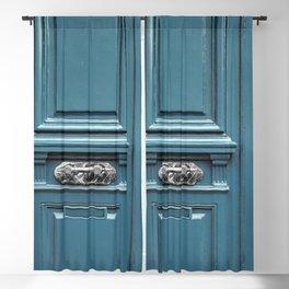Blue Moon Doorway Blackout Curtain