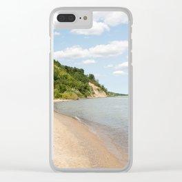 AFE Bluffer's Beach Clear iPhone Case