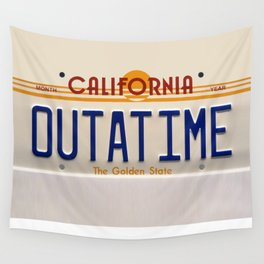 California Out A Time Wall Tapestry