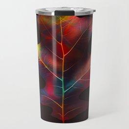 Rainbow Leaf Travel Mug