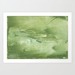 Swamp green Art Print