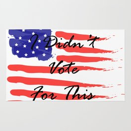 Didn't Vote Rug