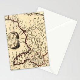 Vintage Map of Florida (1657) Stationery Cards