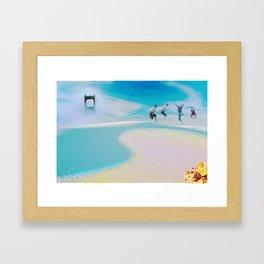 Hurrah! Framed Art Print