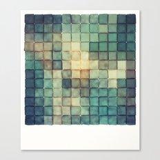 Polaroid Pixels III (Chain) Canvas Print