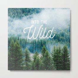 Into The Wild Metal Print