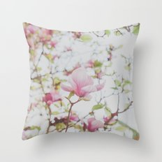 Magnolia Stories Throw Pillow