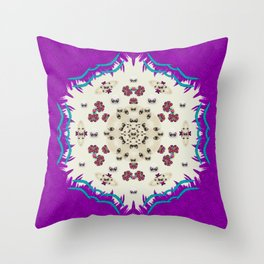 Eyes looking for the finest in life as calm love Throw Pillow