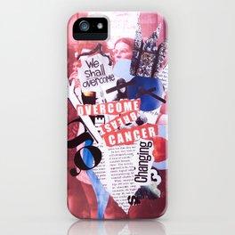 overcome. iPhone Case