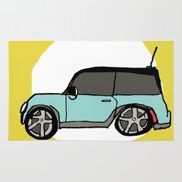Mini Cooper Rug