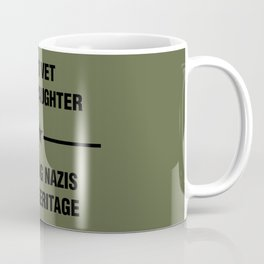 WWII Granddaughter Heritage Coffee Mug