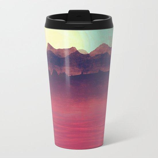Distant Mountains Metal Travel Mug