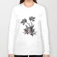 renaissance Long Sleeve T-shirts featuring Renaissance Noir II by Olivia Cho